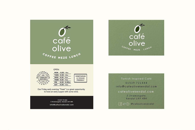 cafe-olive-zeki-michael-ad-business-branding-cafe-meze-lunch-lettering-illustration-ad-layout