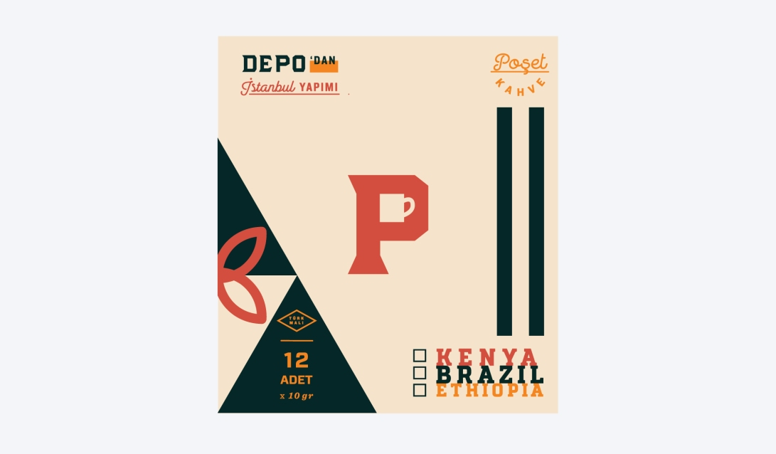 zeki-michael-depo-logo-poset-kahve-logo-identity-packaging-sallama-kahve-design-illustration-label