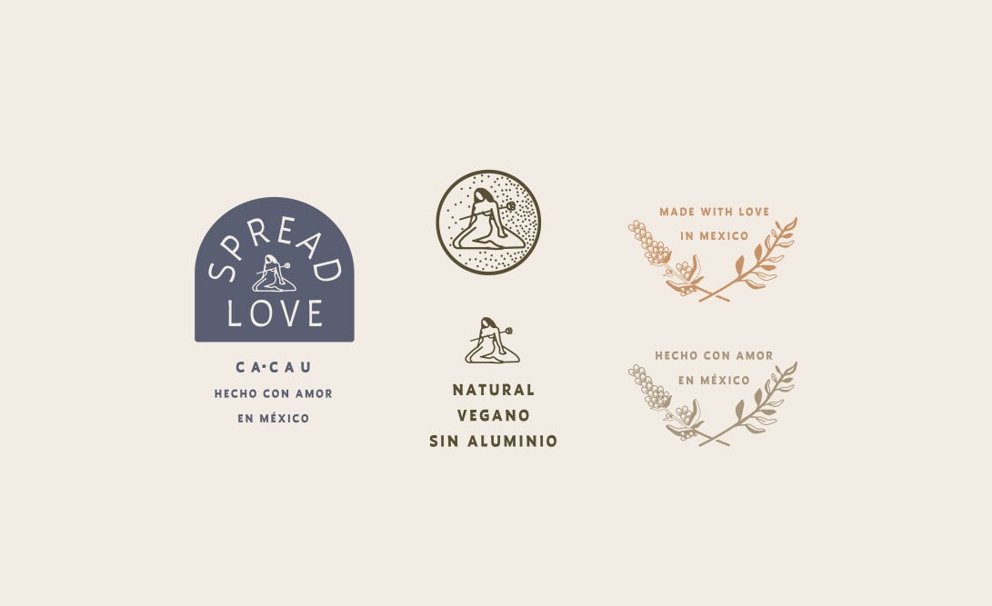 cacau-naturals-elements-desodorante-zeki-michael-design-mexico-mezcal-alcohol-hemp-cbd-deodorant-cosmetic-tube-container-branding-packaging-design-studio-freelance-creative copy