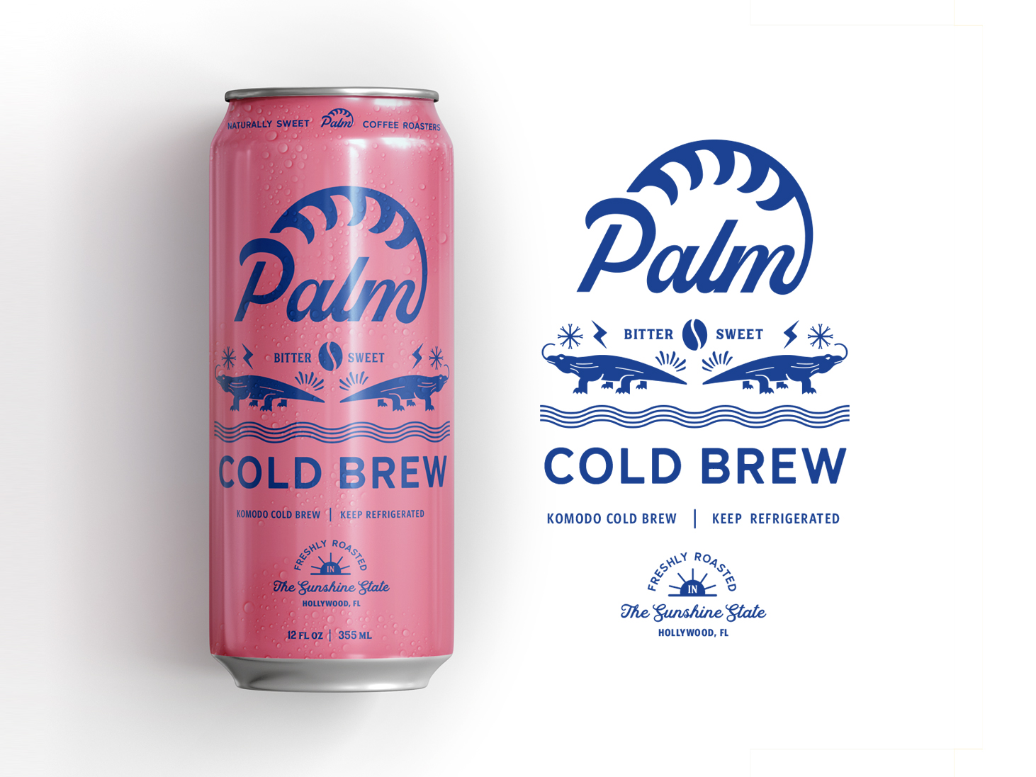 dribbble-cold-brew-design-designs-agency-can-packaging-drink-florida-hollywood-beach-summer-concept-packaging-branding-pink-vibe-freelance-zeki-michael-studio