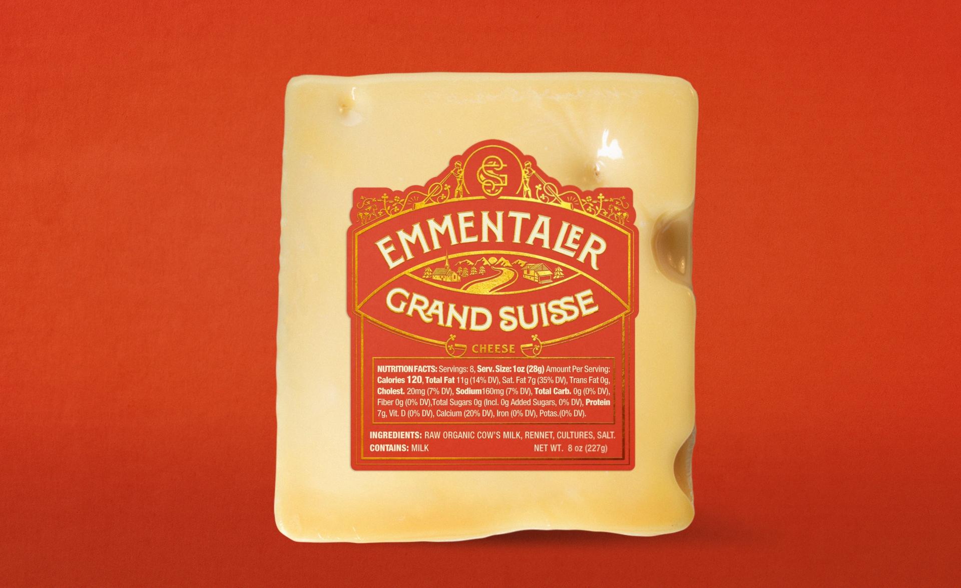 front-label-cheese-emmentaler-preview-grand-suisse-close-zeki-michael-design-branding-studio-packaging-red copy