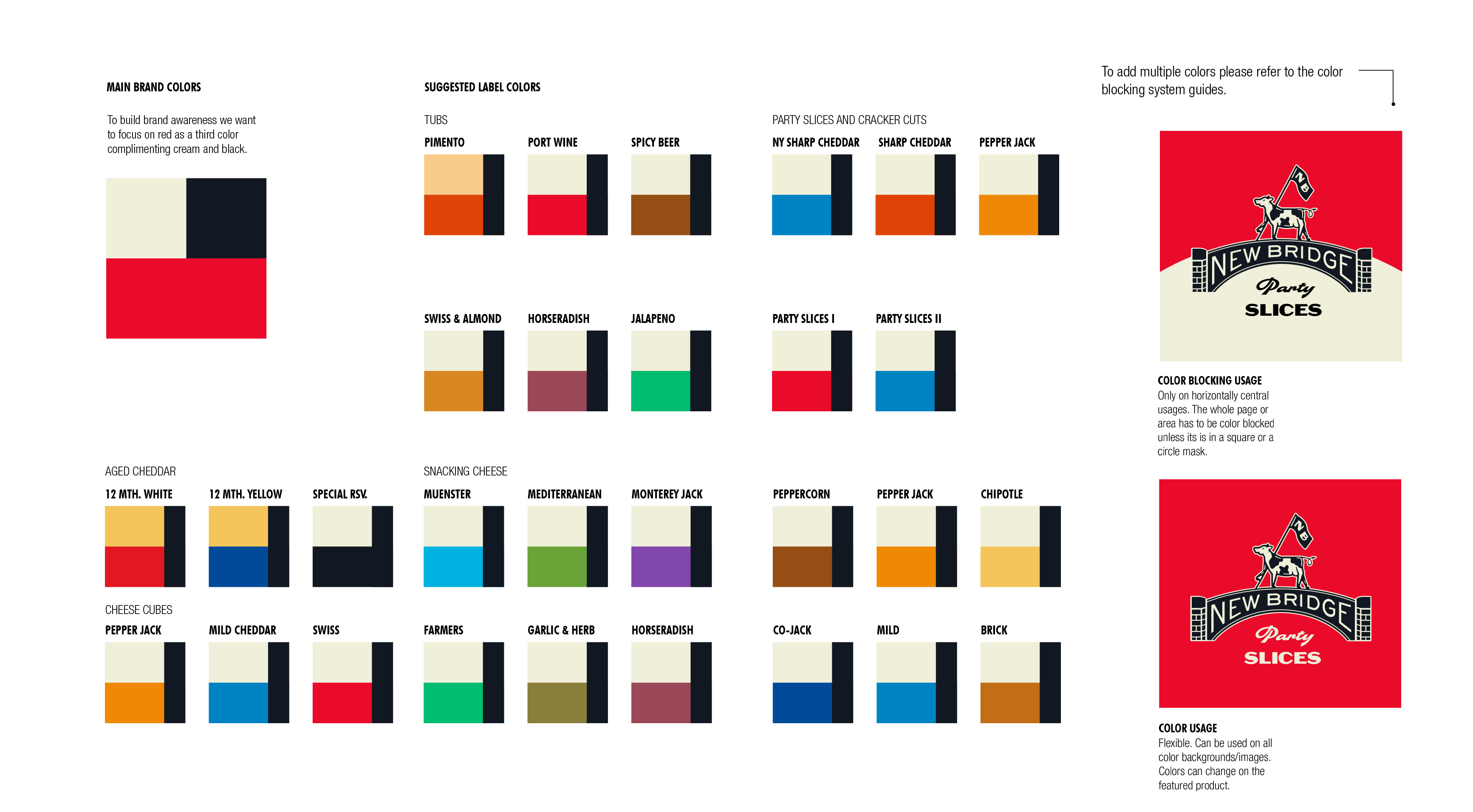 overall-color-packaging-2-guideline-new-bridge-cheese-design-exploration-zeki-michael-design-cheese-cow-spread-tub-sku-range-agency-branding copy